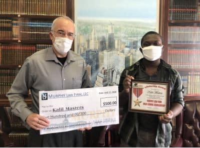 Scholarship Winner 2020 - Kalil Masters