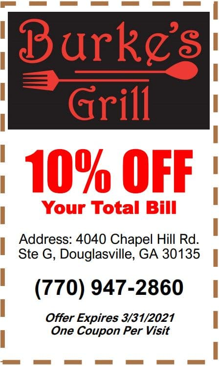 burkes grill coupon 2021