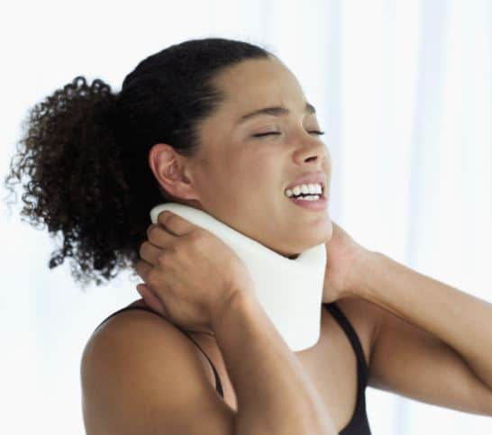 whiplash, back and neck injuries from a georgia auto accident