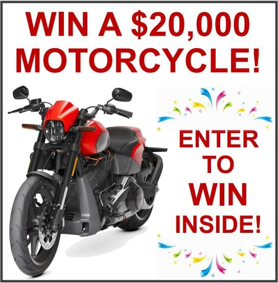 win a motorcycle