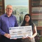 Erika Tomar 2017 Scholarship Award Winner