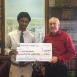 Khyle Sorhaindo 2015 Scholarship Award Winner