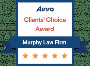 Avvo Clients Choice Award - Murphy Law Firm